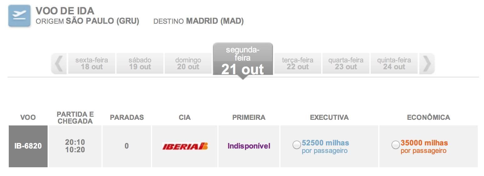Resgates de passagens na Iberia já é possível pelo Smiles