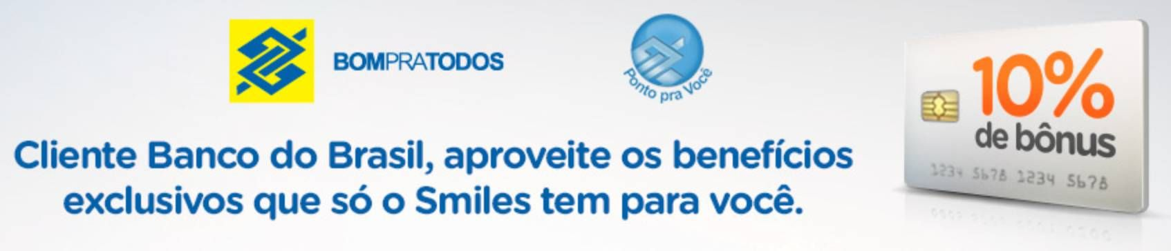 smiles banco do brasil