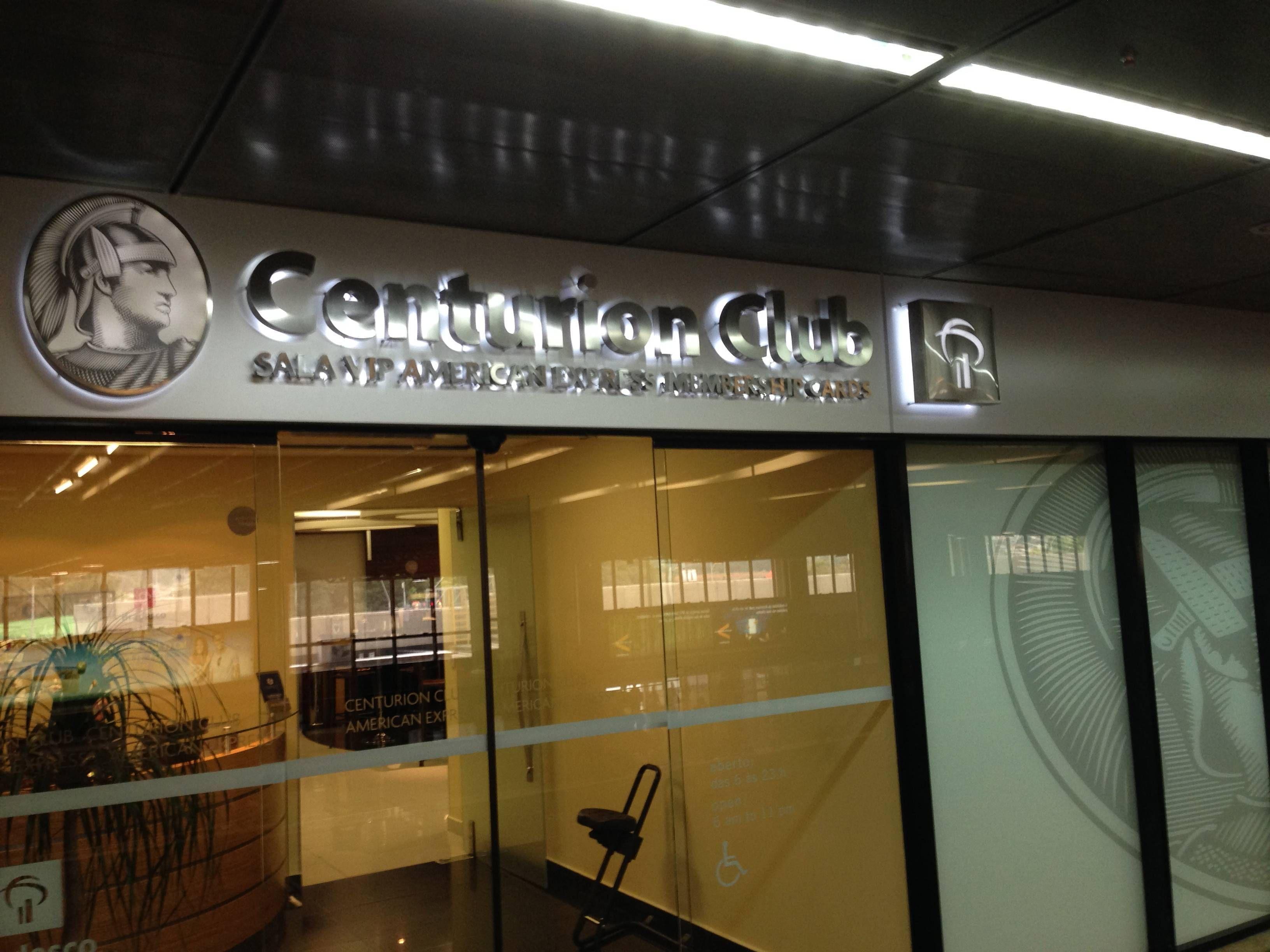 Sala VIP Centurion Club Guarulhos American Express