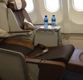 Classe Executiva da South African Airways no A330