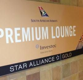 Premium Lounge South African Airways no Aeroporto de Johannesburgo (JNB)