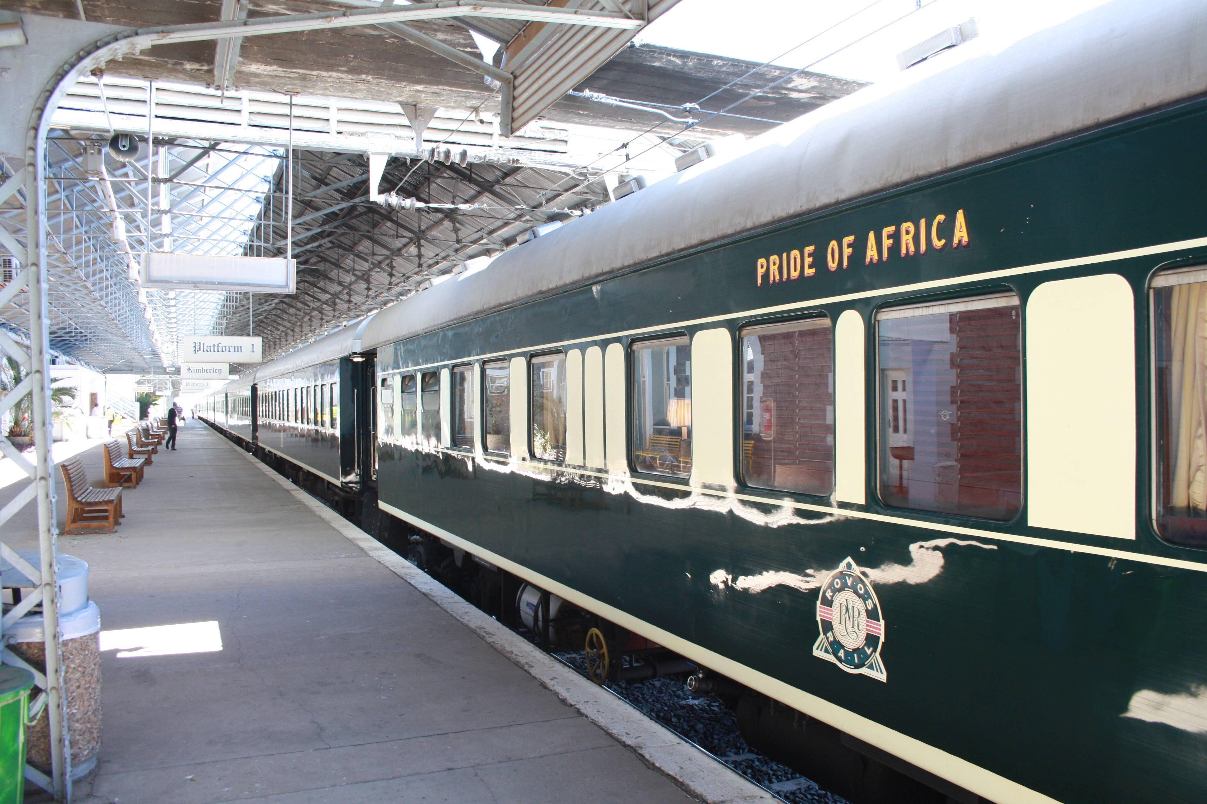 Rovos Rail O trem mais luxuoso do mundo