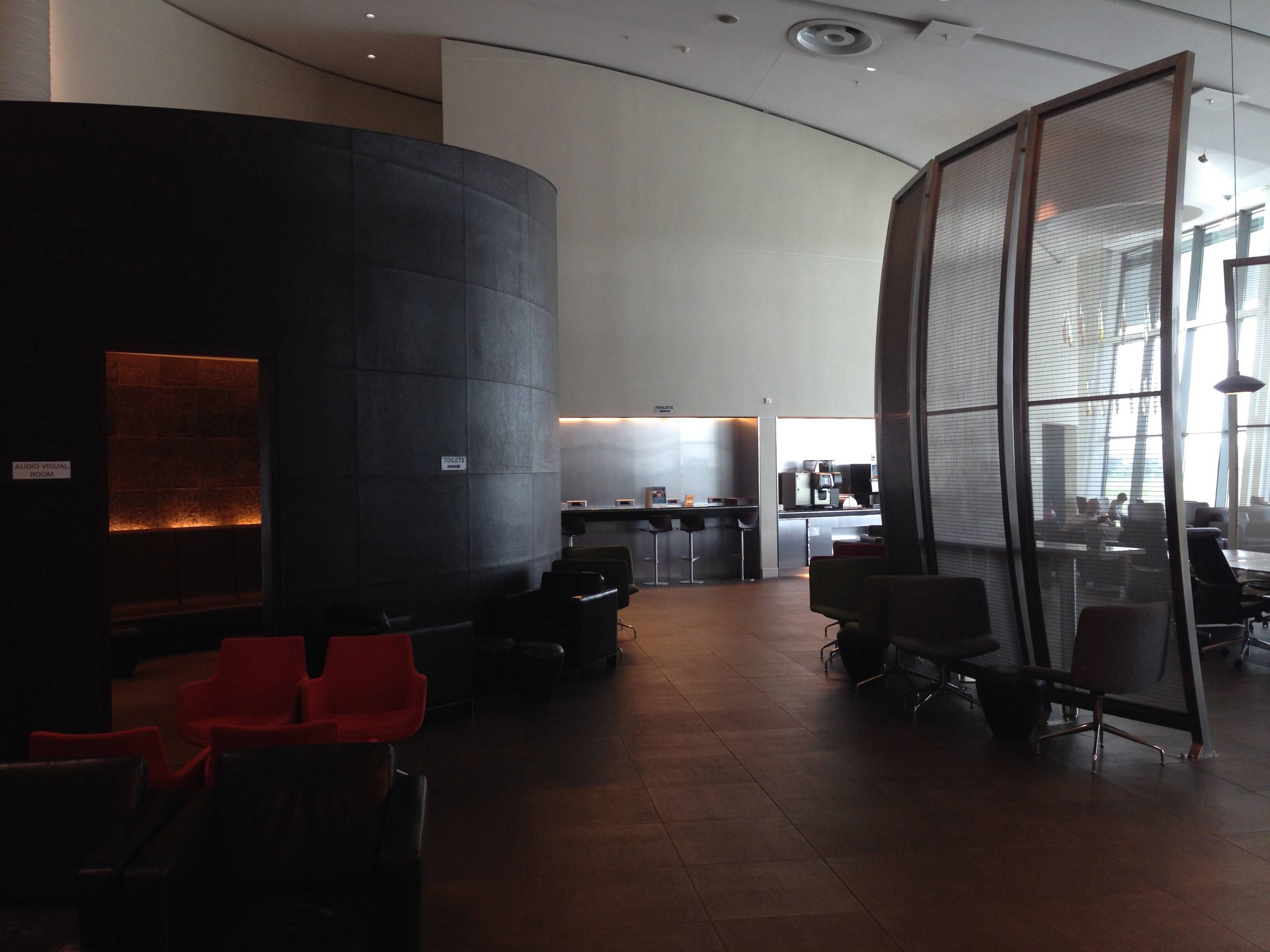 Premium Lounge South African Airways Cape Town