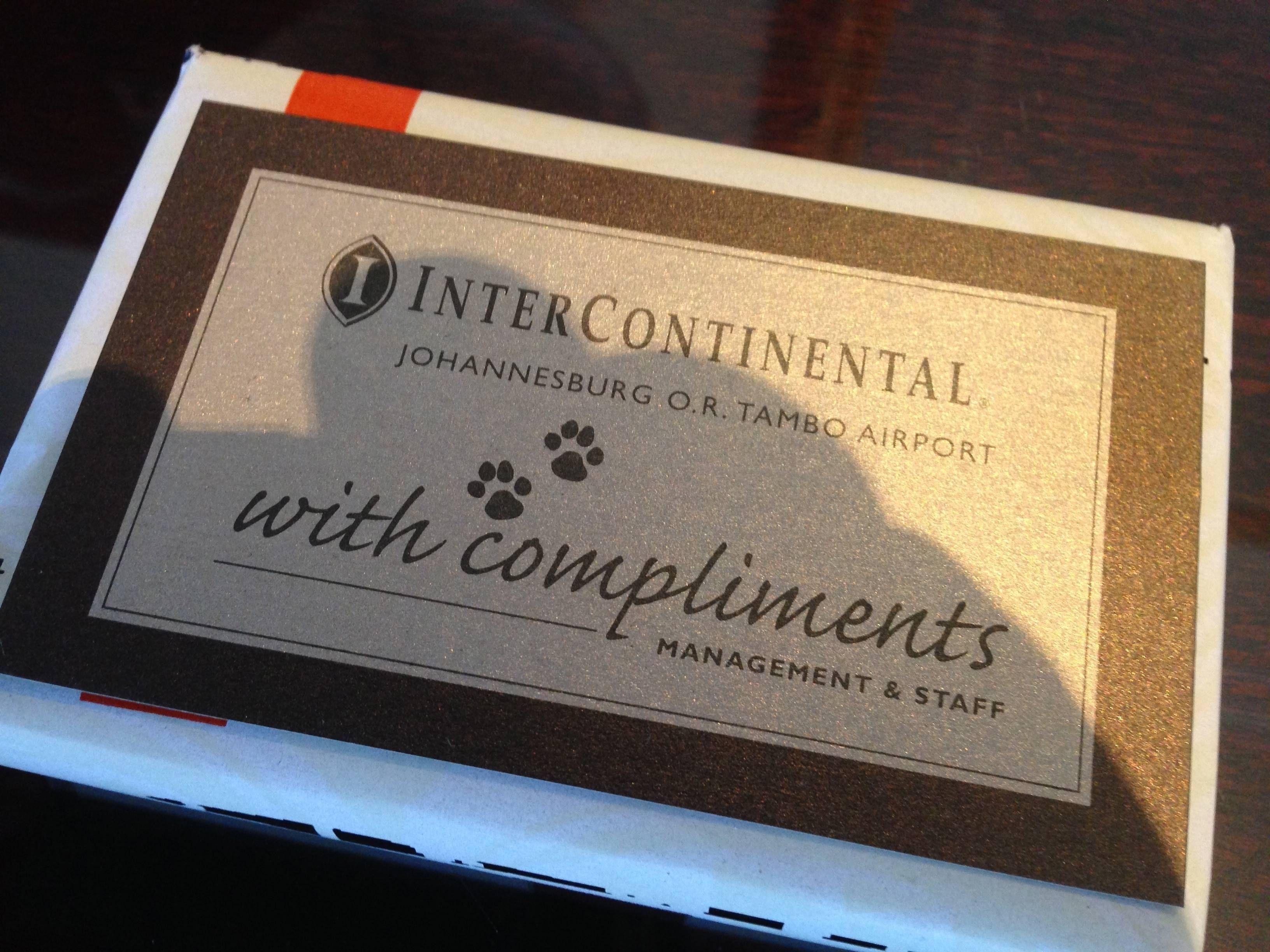 Intercontinental OR Tambo Airport Johannesburg
