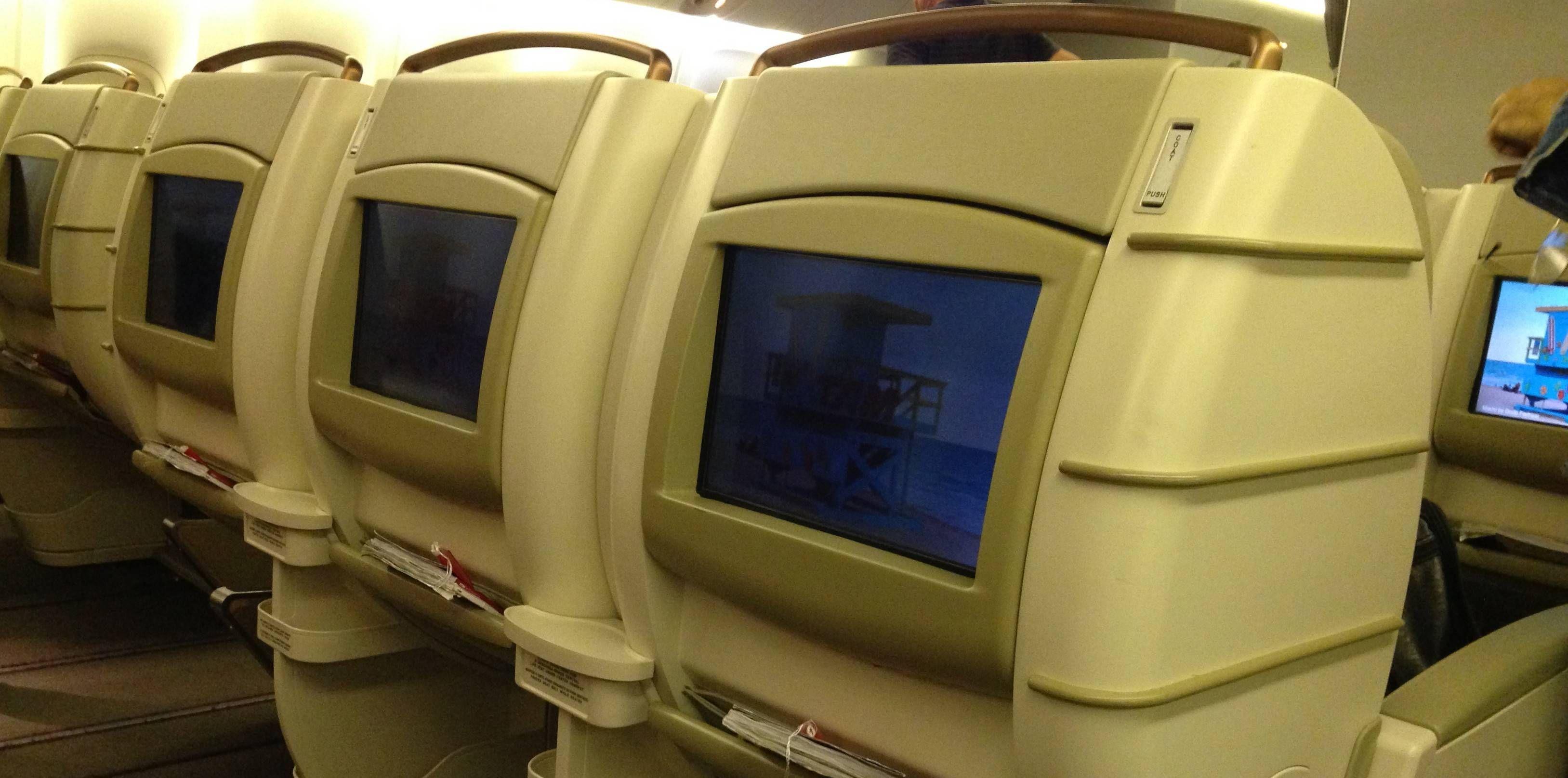 Classe Executiva da TAM no Boeing 777-300