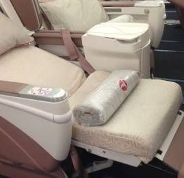 Classe Executiva da Turkish Airlines no A340