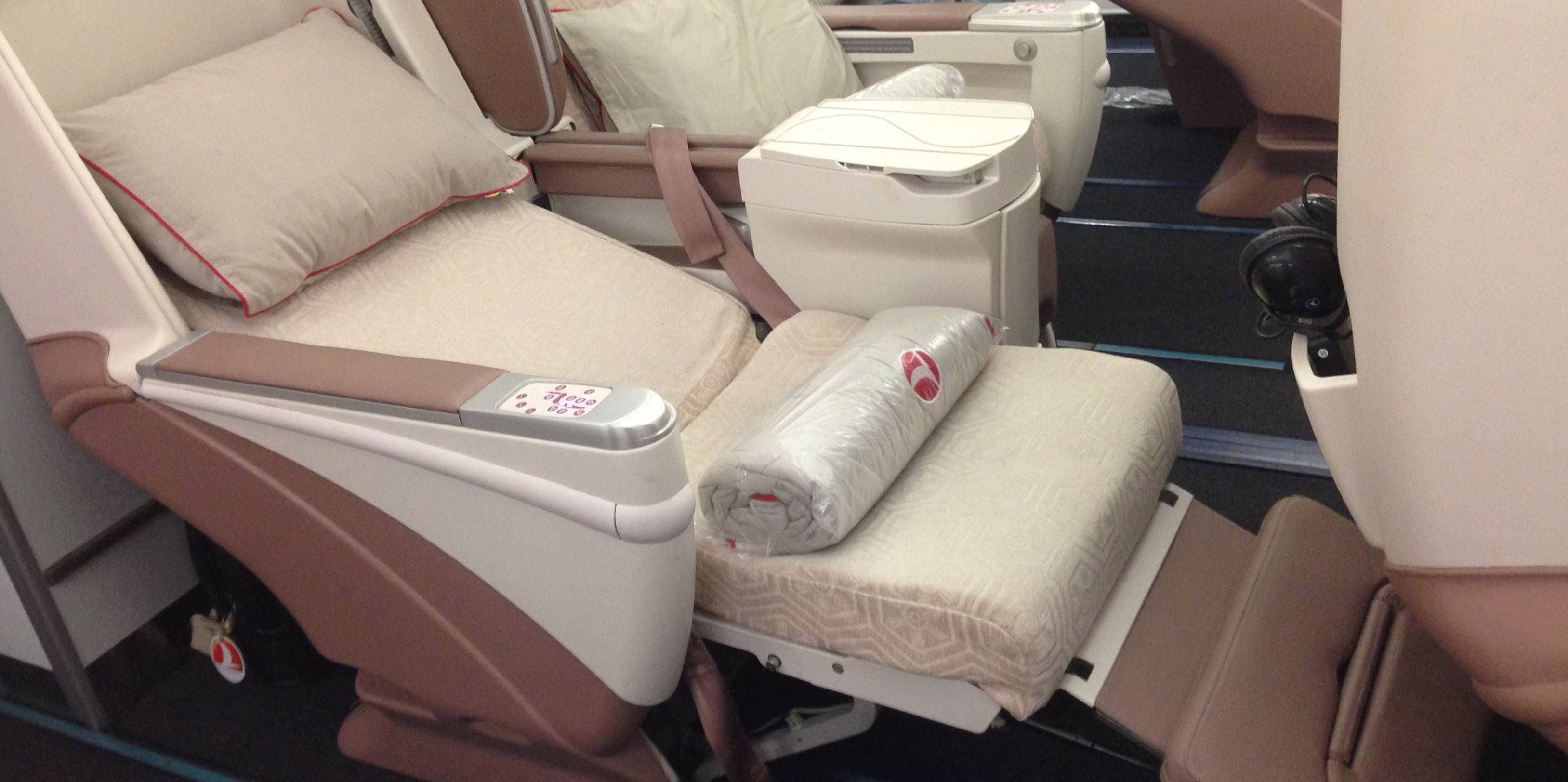 Classe Executiva da Turkish Airlines no A340