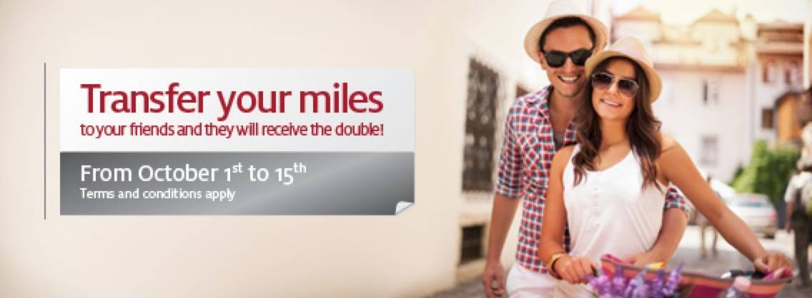 LifeMiles da Avianca oferece 100% de bonus na transferência de milhas