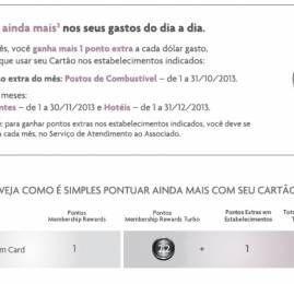 American Express oferece até 3,2 pontos por U$ para portadores do cartão The Platinum Card