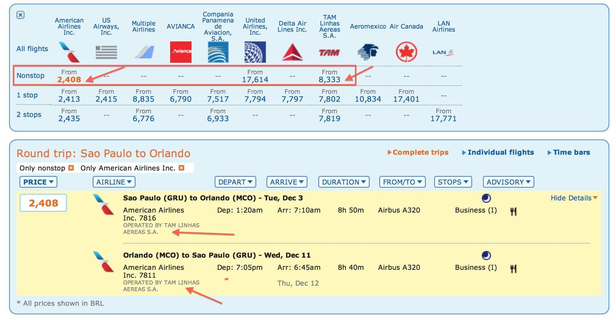 Passagens para os EUA em executiva em Novembro por R$2.400,00 (ida e volta)