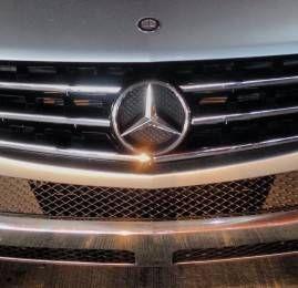 Mercedes ML alugada na SIXT