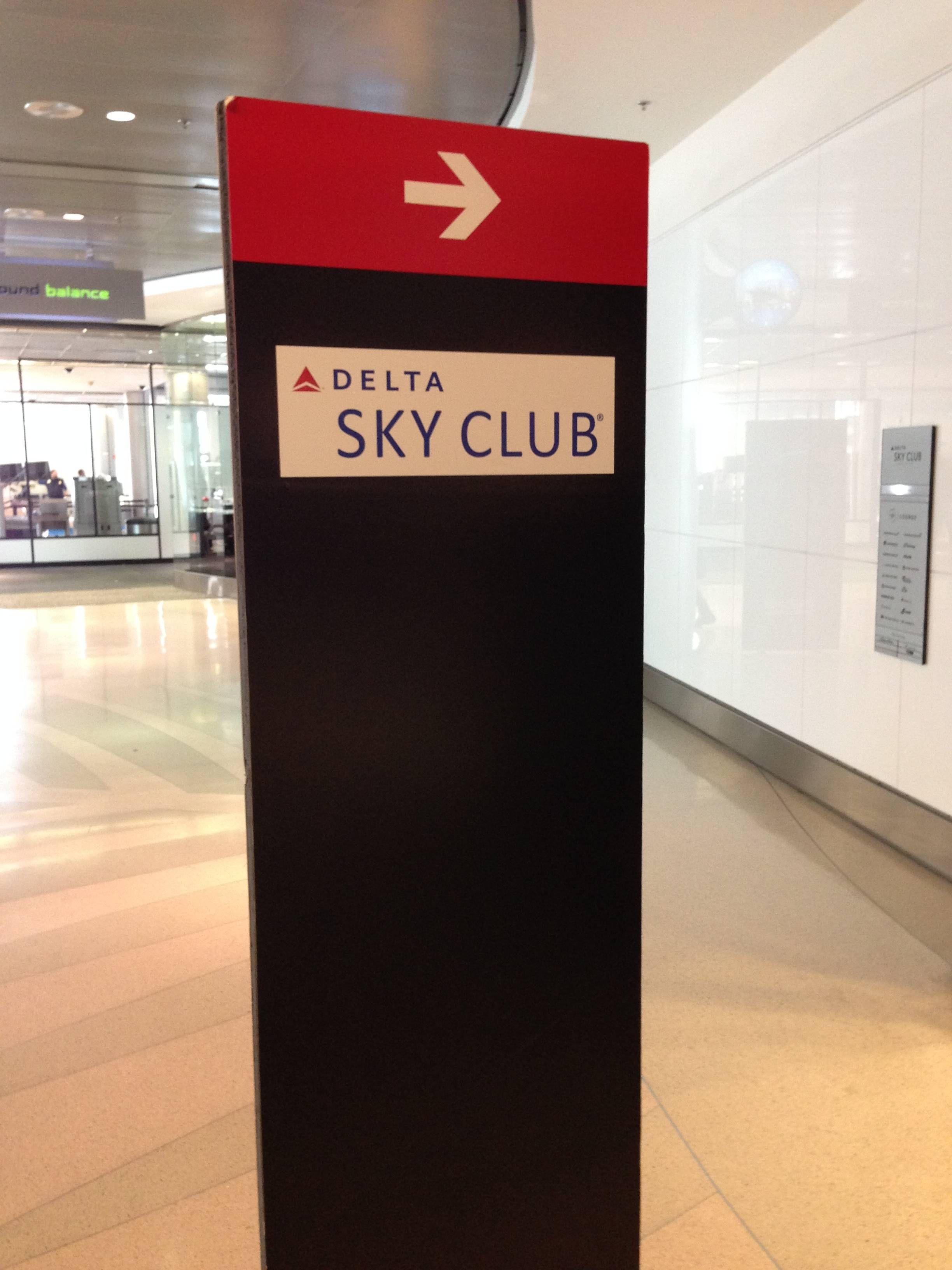 Delta SkyClub Miami
