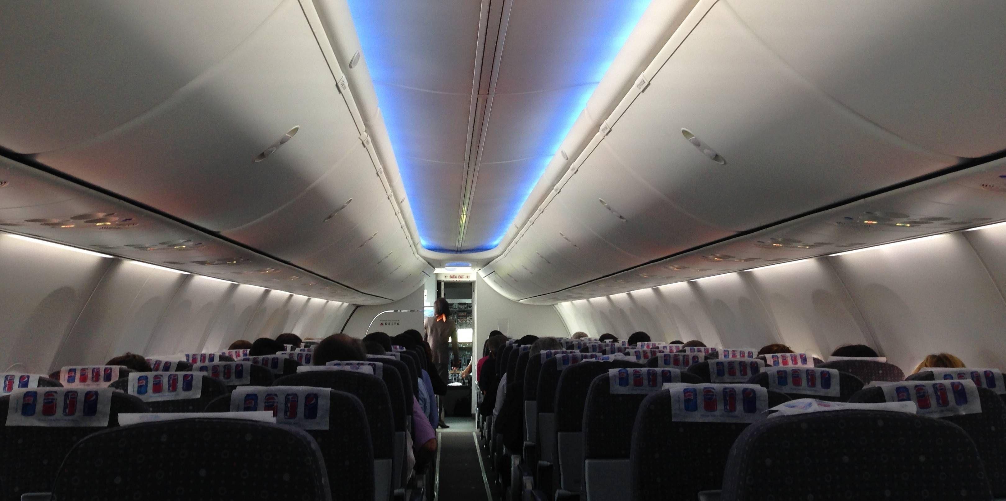 Boeing 737-800 da GOL com Sky Interior