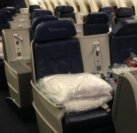 Classe Executiva da Delta no Boeing 767-400ER