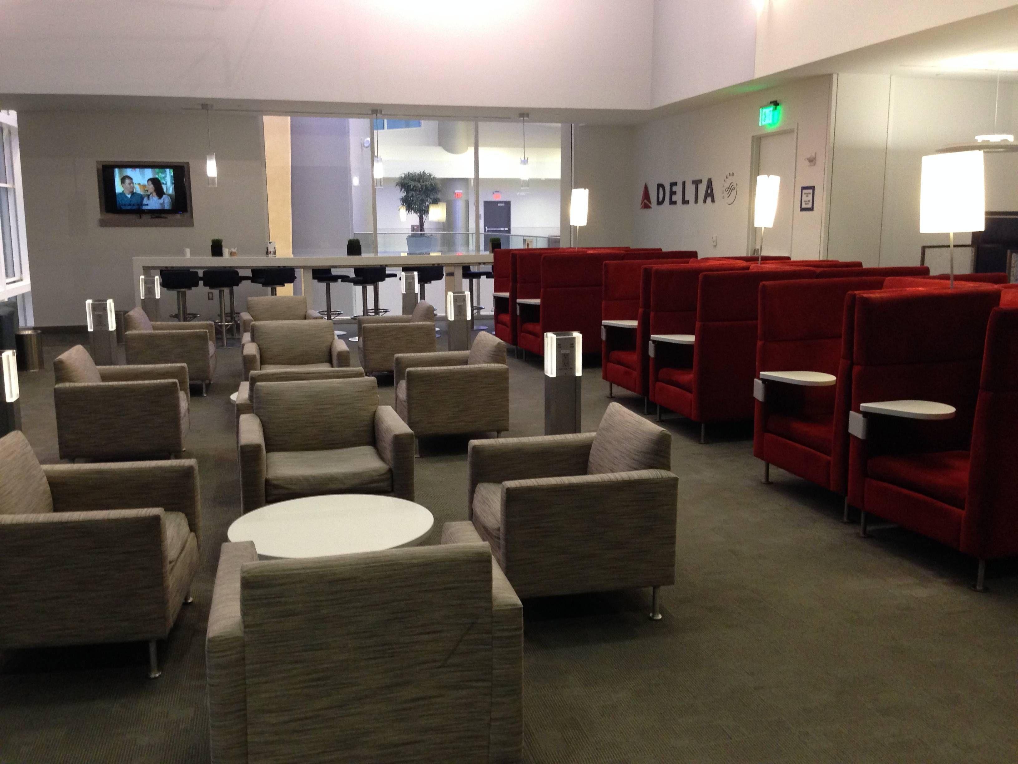 Delta SkyClub Sala VIP Atlanta Terminal F