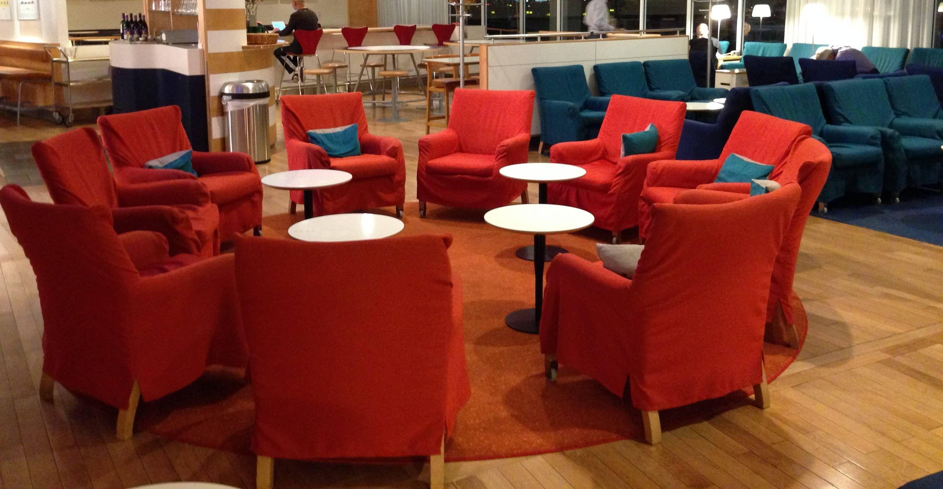 Sala VIP SAS Business Lounge no Aeroporto de Newark (EWR)