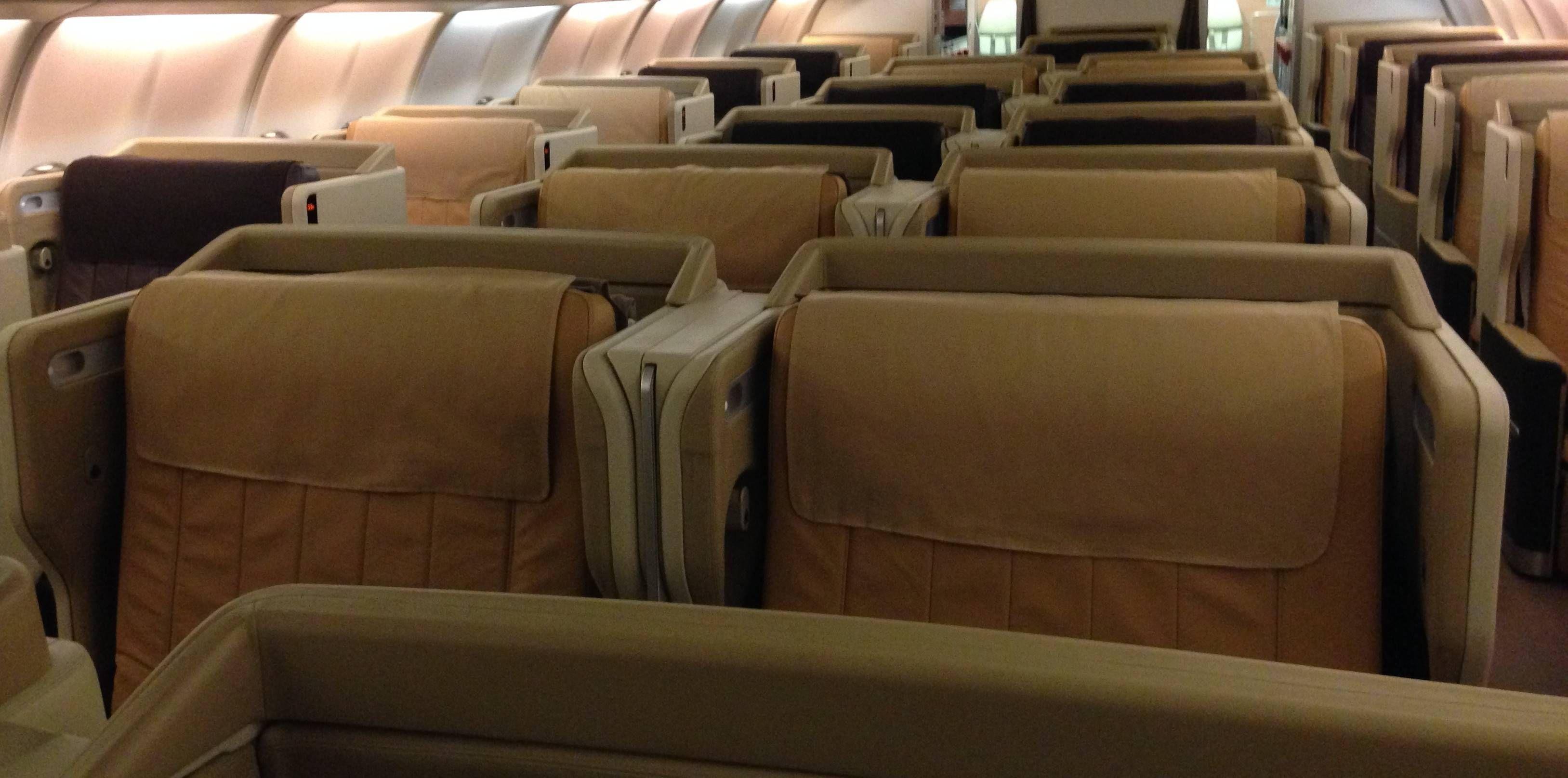 Classe Executiva da Singapore Airlines no Airbus A340 – All Business Class