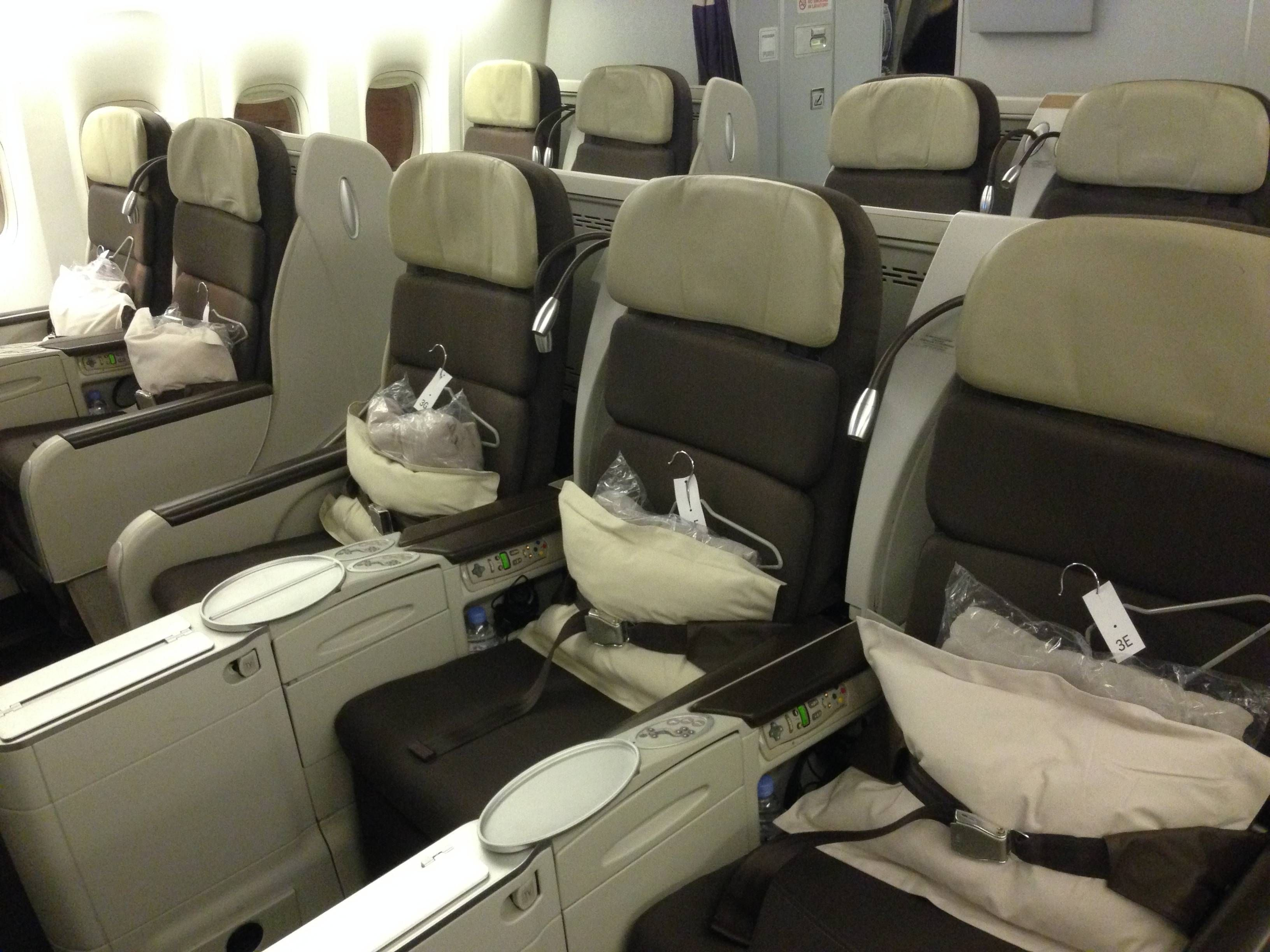 Classe Executiva Da Air France No Boeing 777 300er