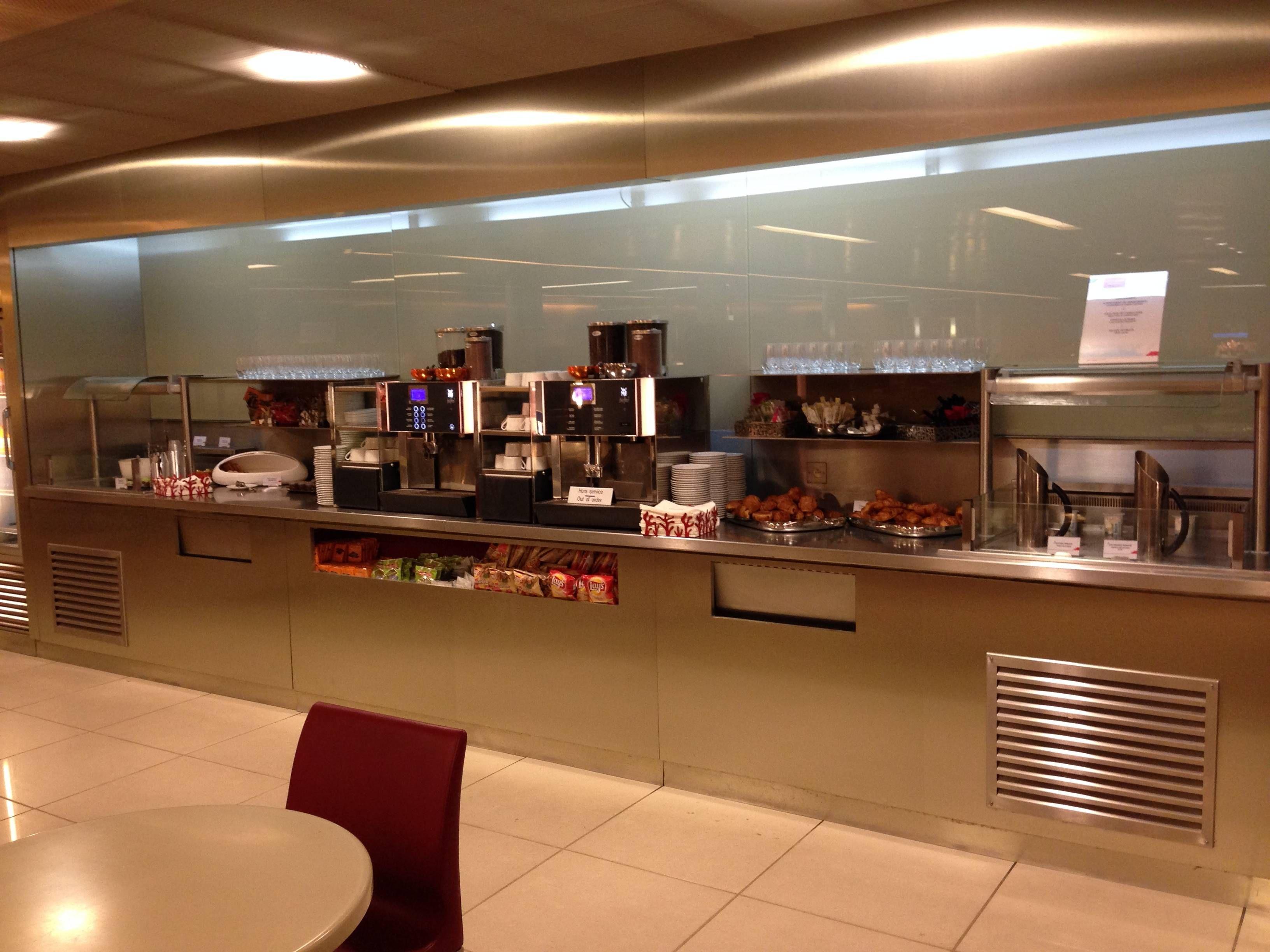 Sala VIP Air France no Aeroporto de Paris (CDG) - Terminal E - Portões K