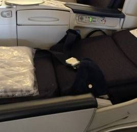 Classe Executiva da Air France no Boeing 777-200ER