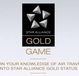 Ganhe status Gold na Star Alliance participando de um quiz