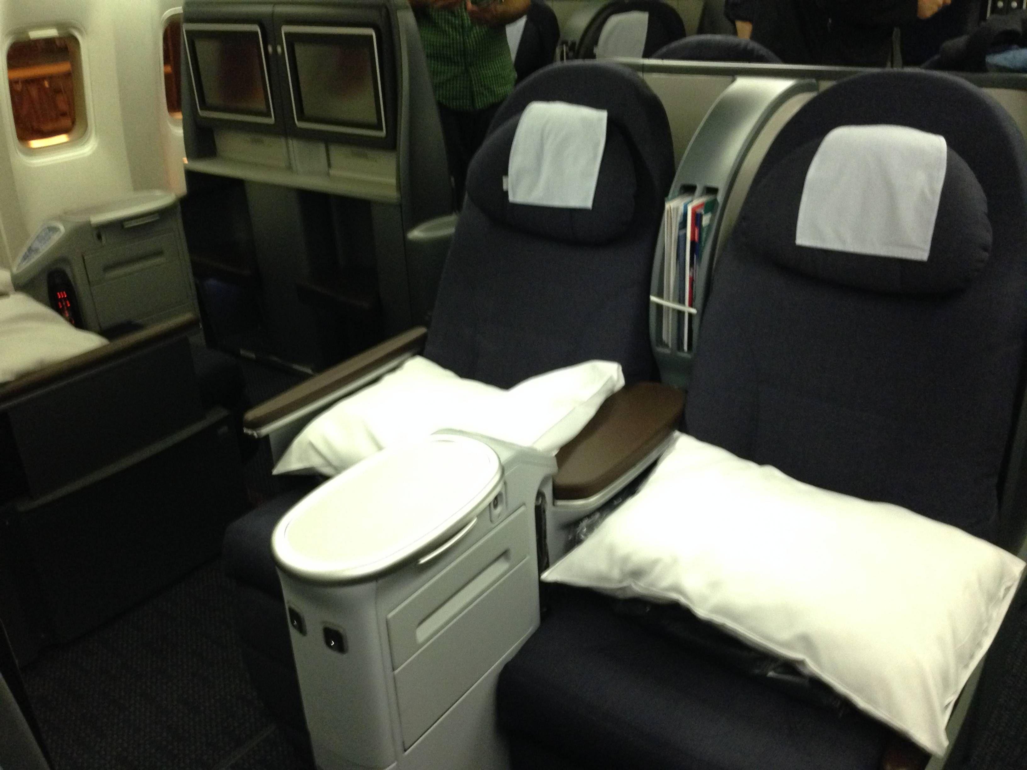 United Classe Executiva BusinessFirst 767-300