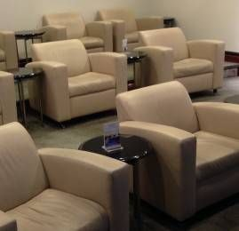 Sala VIP United Club no Aeroporto de Houston (IAH)