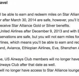 US Airways ainda terá parceiros na Star Alliance mesmo entrando para oneworld
