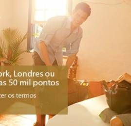 Programa Sempre Viagem do Itaú tem passagens para EUA e Europa por 50 mil pontos (ida e volta)
