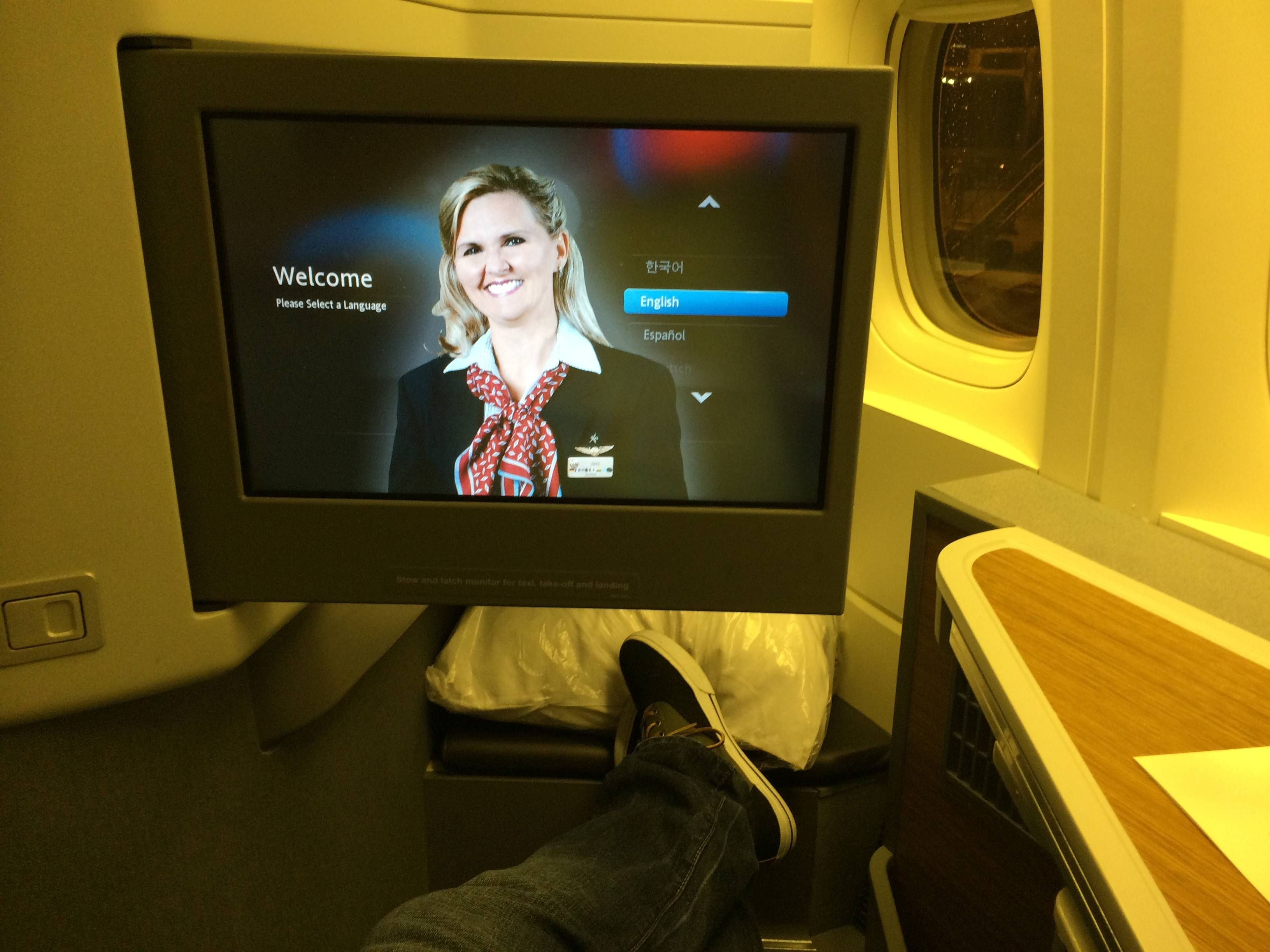 American Airlines Classe Executiva Boeing 777-300ER Business Class