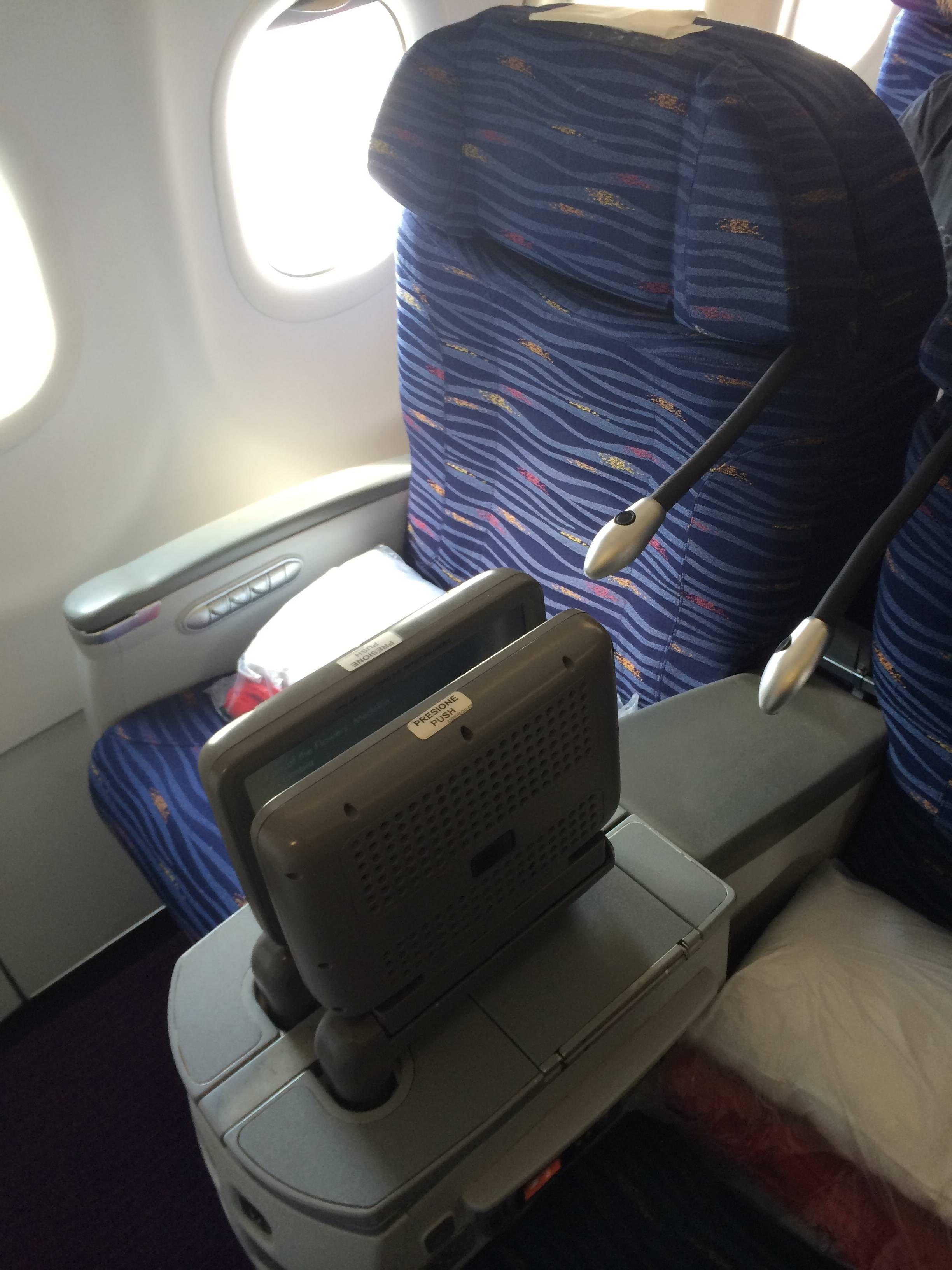Avianca classe executiva a319 business class