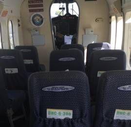 Classe Econômica da Seaborne Airlines no DHC-6-300