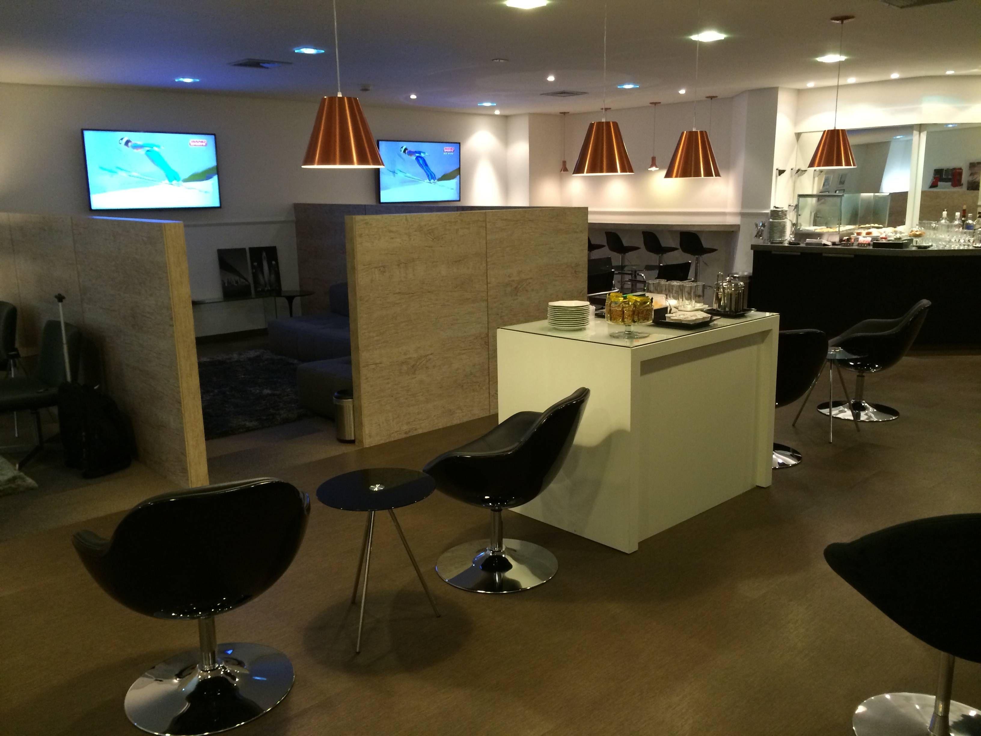 Swiss First Class Lounge Sao Paulo Guarulhos