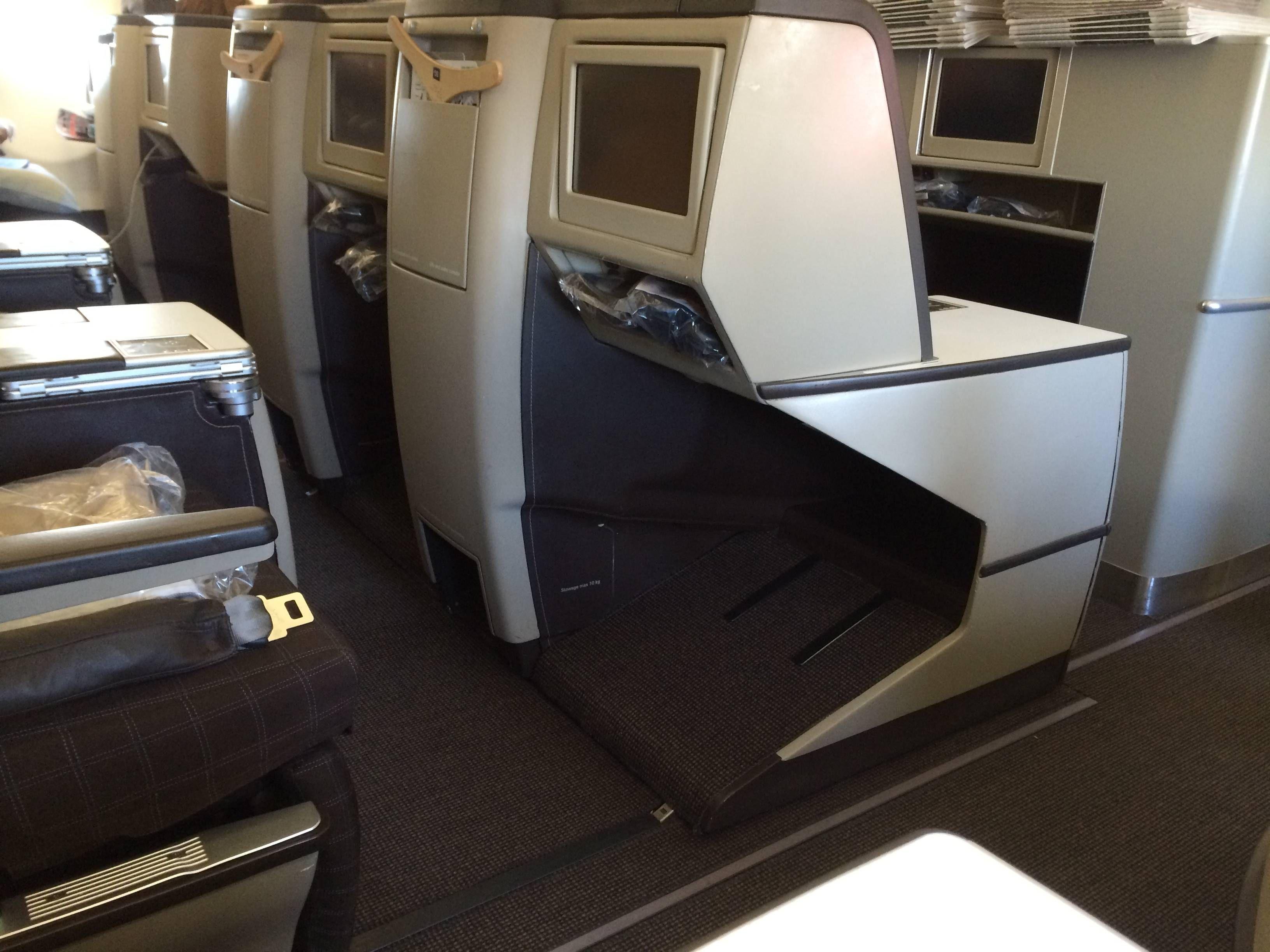 Clase Executiva Swiss A330 Business Class