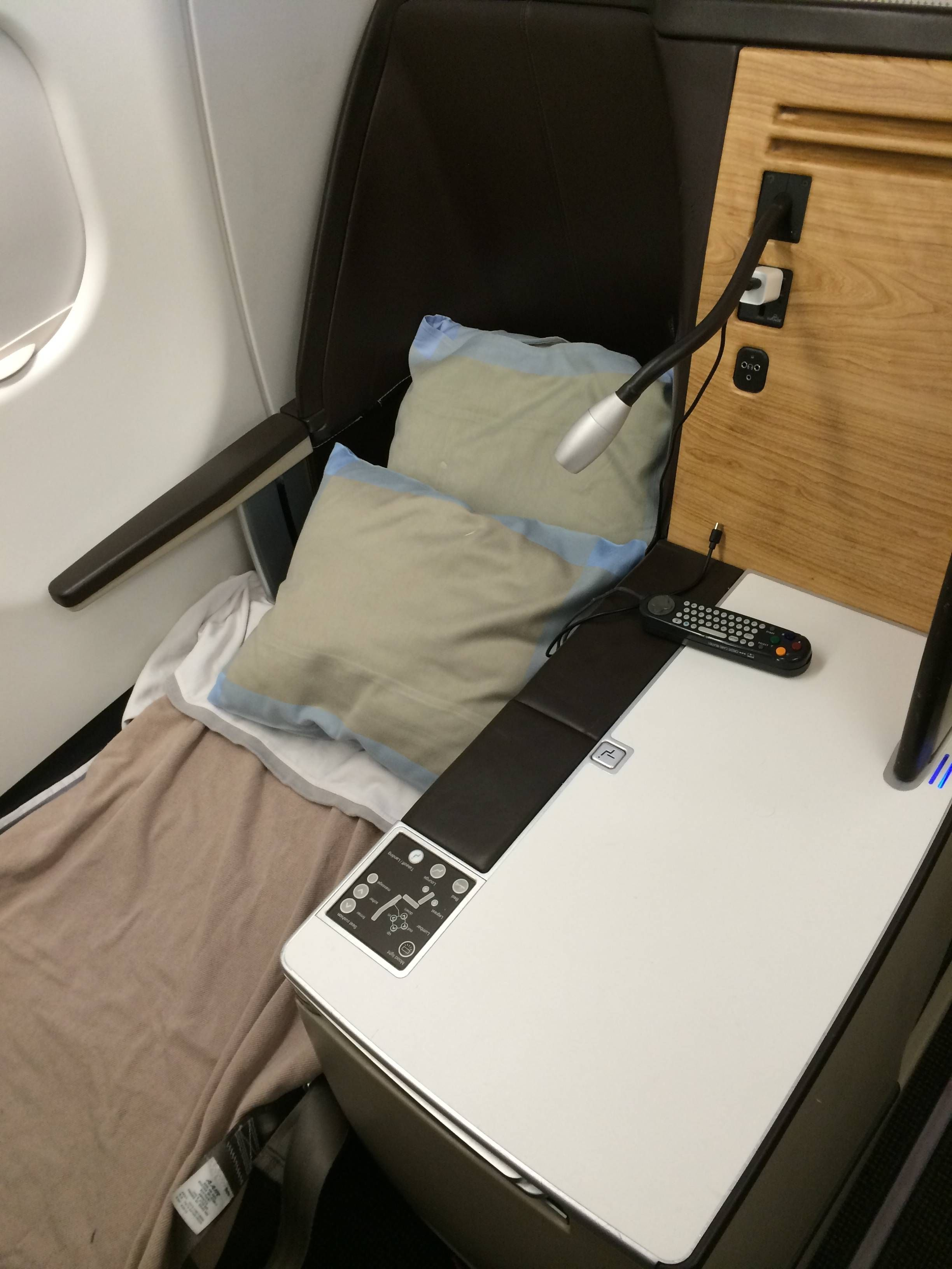 Clase Executiva Swiss A330 Business Class