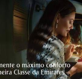 Promoção Emirates: Voe na Primeira Classe pagando preço de Executiva