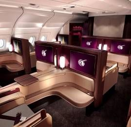 Qatar Airways apresenta sua nova Primeira Classe