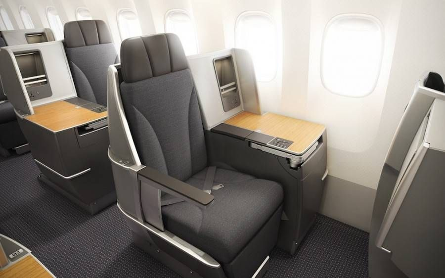 american airlines b767-300 executiva new business class-2