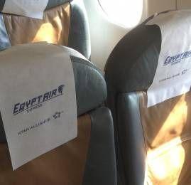 Classe Executiva da Egyptair no E170