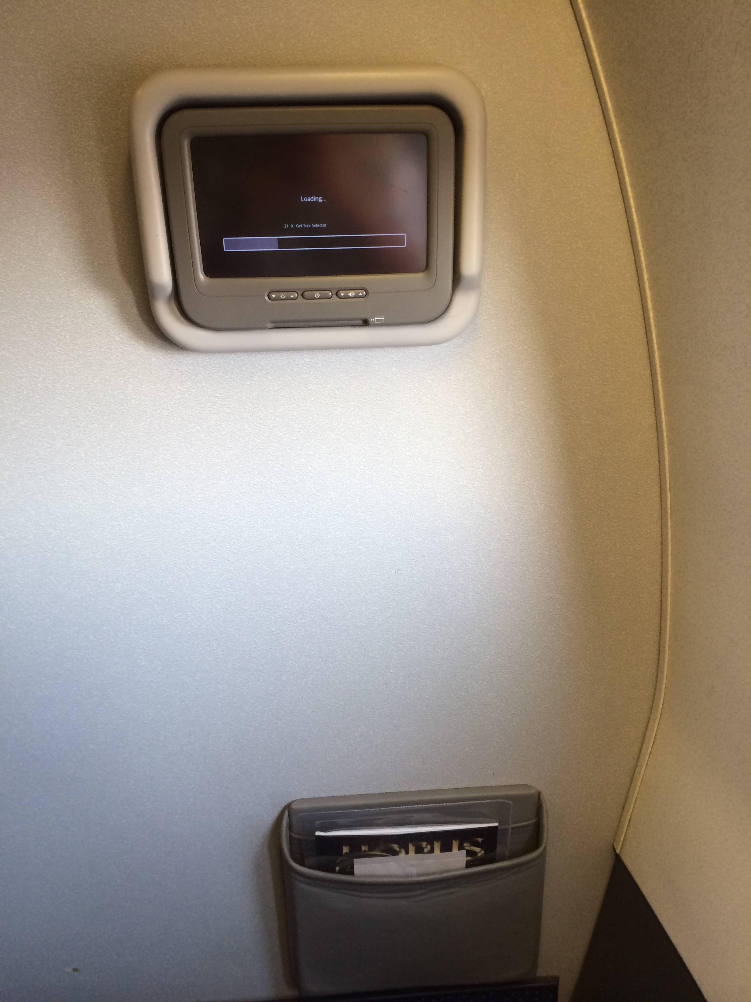 Classe Executiva Egyptair B737 Business Class