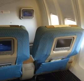 Classe Executiva da Egyptair no B737-800