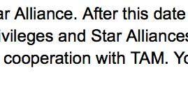 TAM Fidelidade continuará parceria com Lufthansa mesmo após sair da Star Alliance
