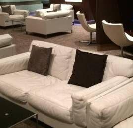 Sala VIP Etihad First Class Lounge – Aeroporto de Abu Dhabi (AUH)