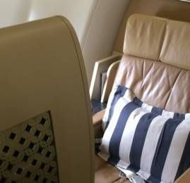 Primeira Classe da Etihad Airways no Airbus A330 – Diamond First Class