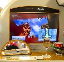 Primeira Classe da Emirates – Suites no A380