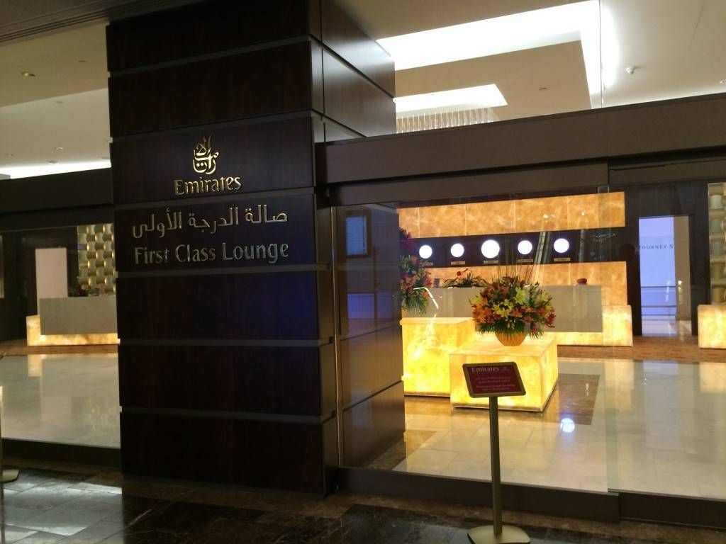Emirates First Class Lounge Sala Vip Terminal 3