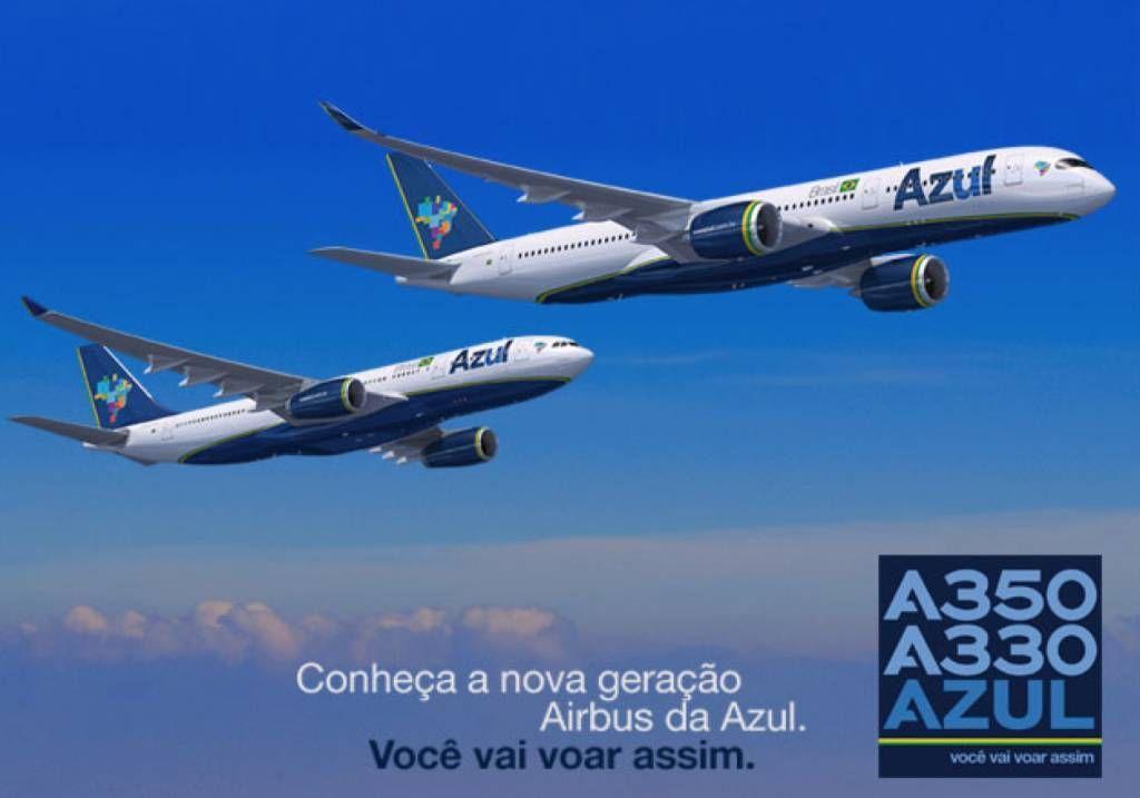 azul airbus a350