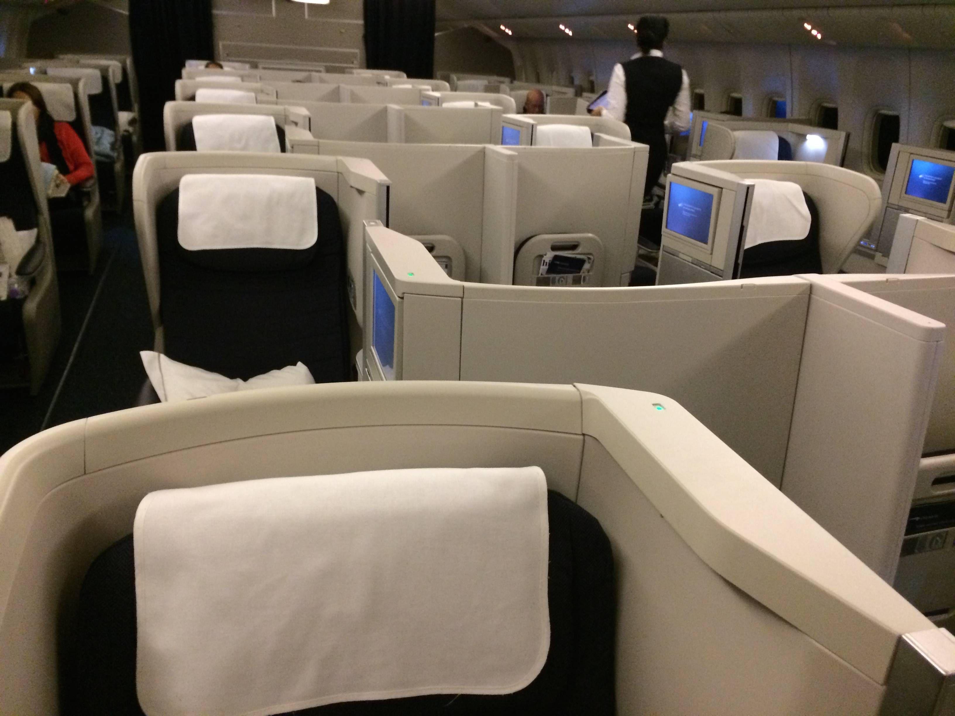 British Airways B777-300ER Business Class Club World Classe Executiva