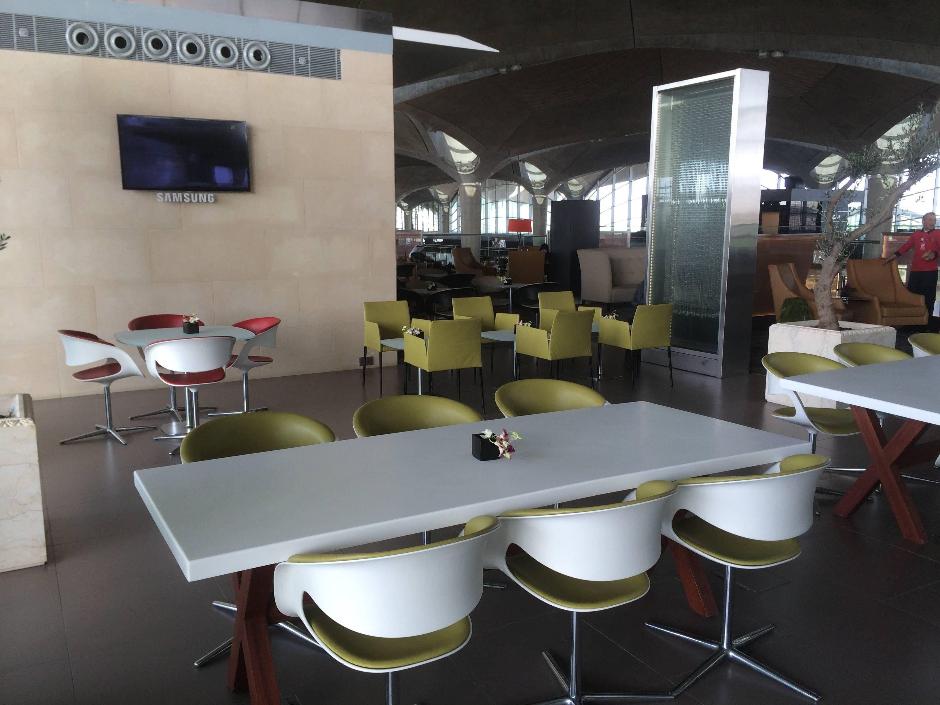 Crown Lounge Royal Jordanian Amman