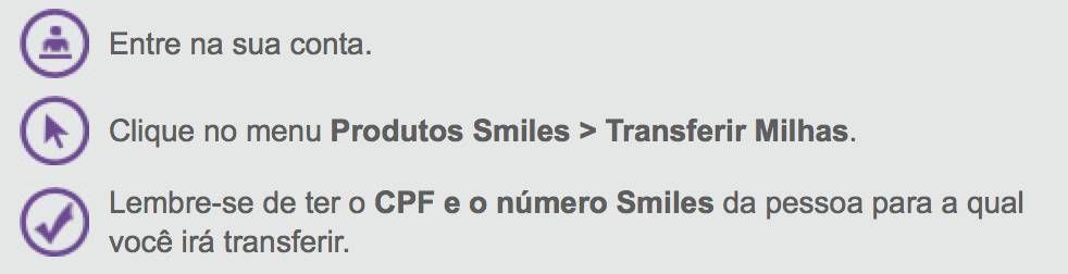 smiles transferencia